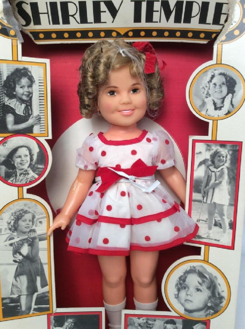 IDEAL Shirley Temple Doll in Box