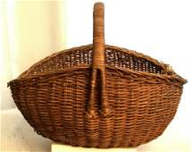 Group 3 Hand Woven Vintage Baskets