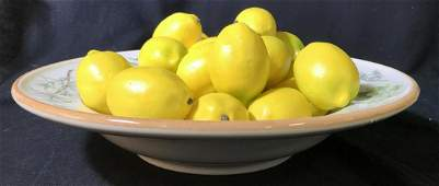Centerpiece WILLIAMS SONOMA Bowl With Lemons
