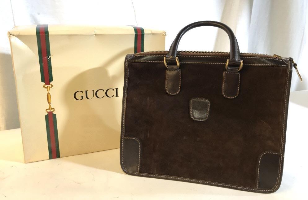 Vintage GUCCI 13 inch vintage bag