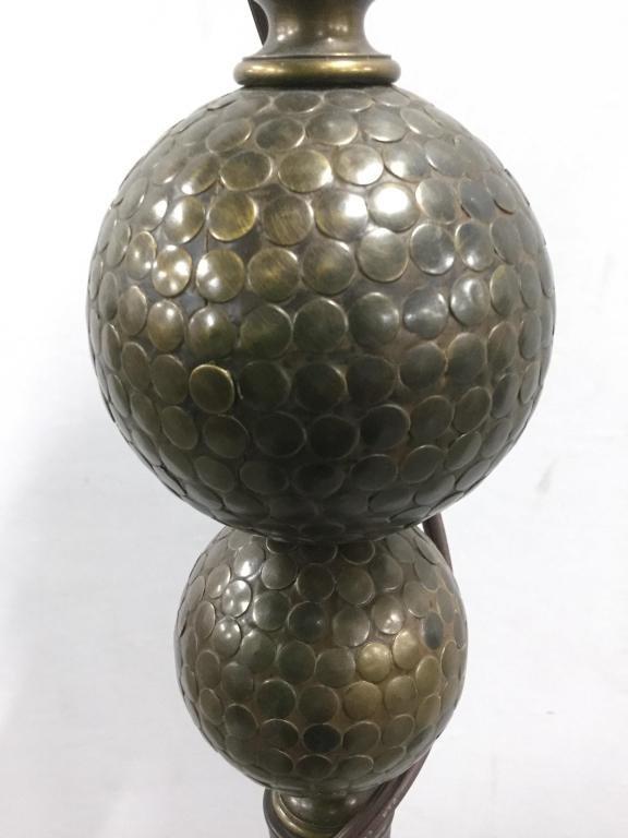 Bronze Toned Metal Floor Lamp