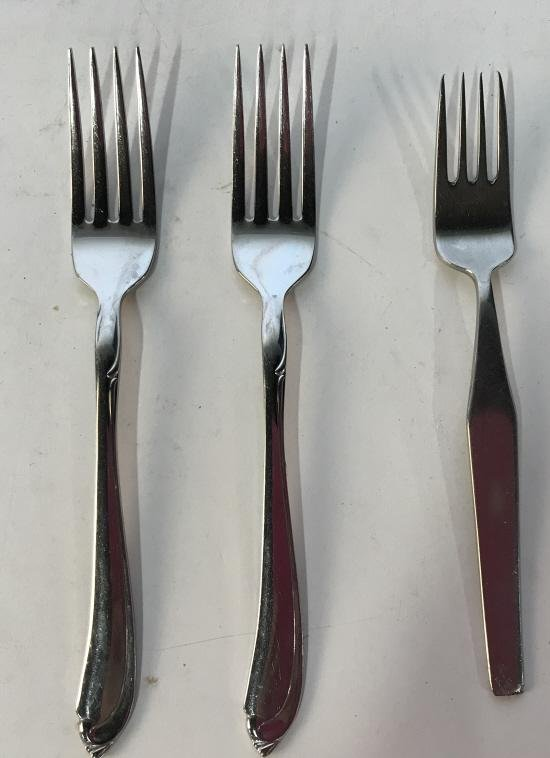 Set 47 ONEIDACRAFT Stainless Steel Utensils