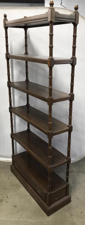 Vintage Ethan Allen Wooden Bookcase