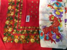 Assortment Silk, Cotton, Wool Fashion Scarves
