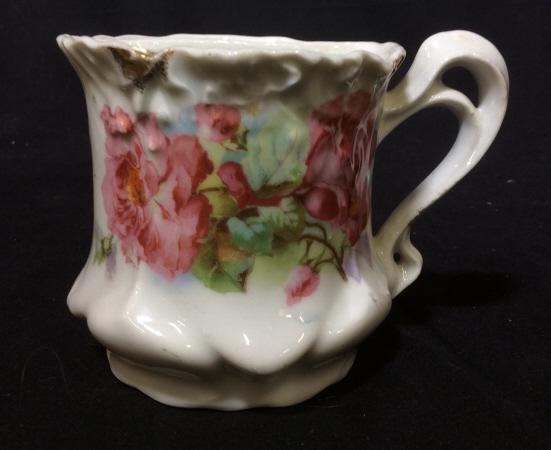 Antique German Porcelain Shaving Mug