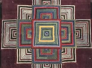 Authentic Artisan Tibetan Mandala Tapestry