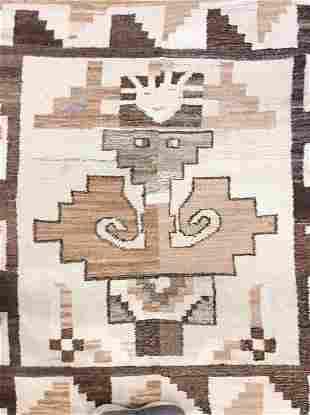 Handmade Wool Mexican Rug