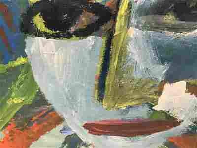 Signed Alexander RUTSCH Mixed Media Painting