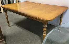 LANE FURNITURE Carved Wooden Dining Table