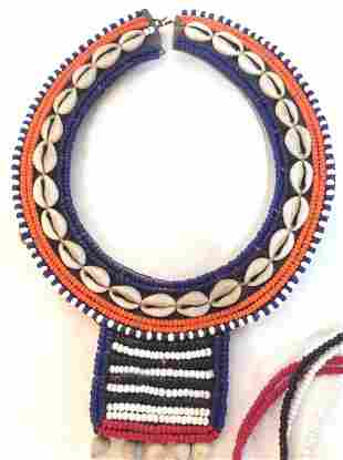 Tribal design Shell And Bead necklace