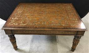 Theodore Alexander Gilt Wooden Coffee Table