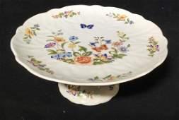 AYNSLEY Porcelain Pedestal Cake Plate