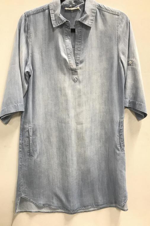 ELAN Denim Dress/ tunic