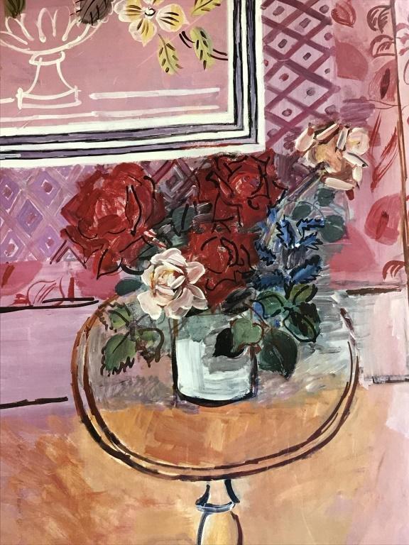 Framed Poster Print, Dufy's La Vie en Rose