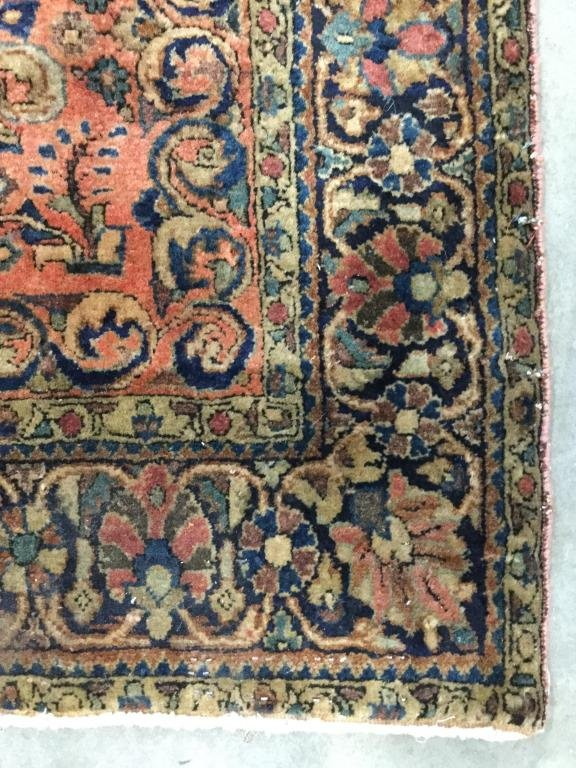 Antique Handmade Persian Wool Rug