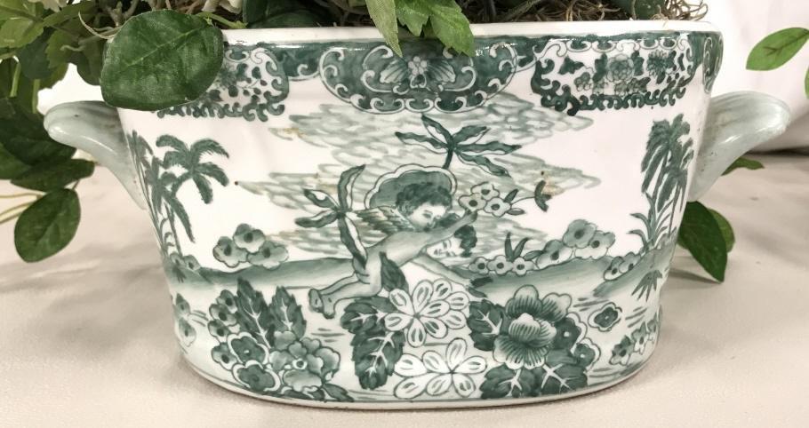 Chinese Ceramic Planter Cache Pot