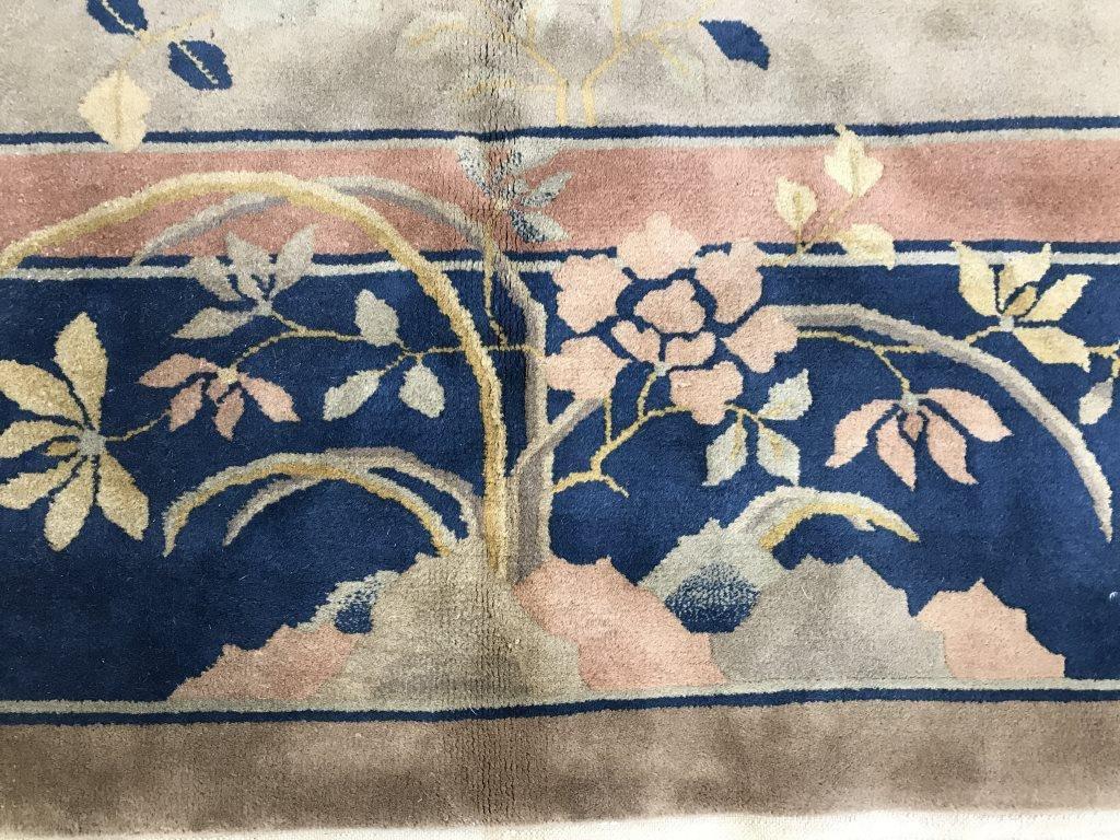 Chinese Art Deco Handmade Wool Rug