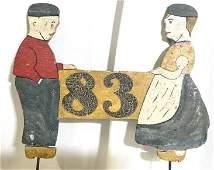 Dutch Wooden Folk Art Figurals