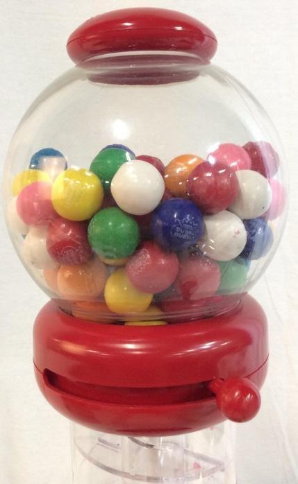 TABLETOP NEON Gum Ball machine