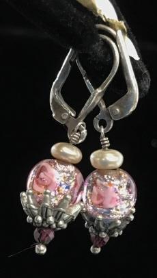 Mid Century Earrings TRIFARI, jewelry