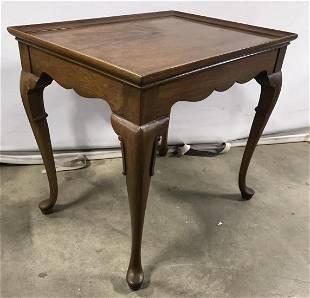 Vintage Cabriole Leg Side Table