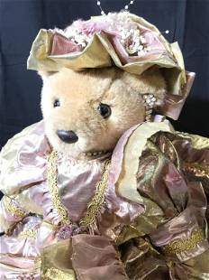 Bearly People Collectible Victorian Stuffed Animal