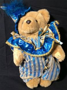 BEARLY PEOPLE Collectible Jester Bear