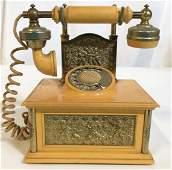 Vintage French Style Phone Radio, Japan
