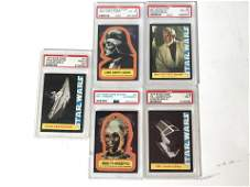 Collectible Graded Star Wars Comics  Cards