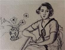 Signed Original Lithograph AFTER Henri Matisse