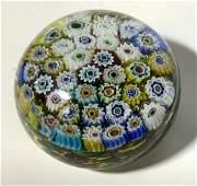 Pair Murano Art Glass Paperweight, Italy