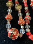 Group 4 Asian Bead Colorful Necklaces