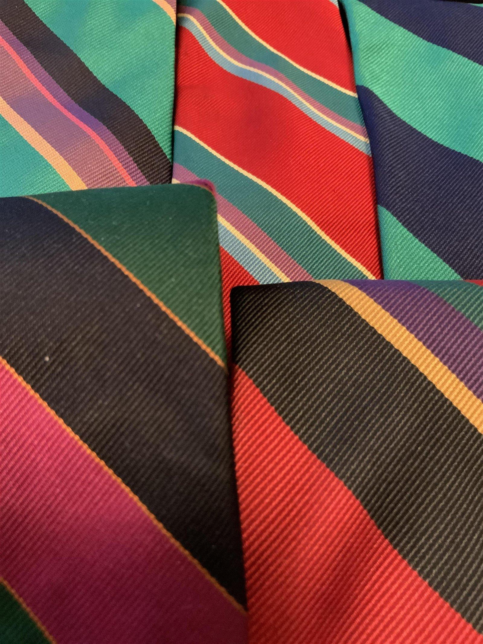 Group Lot 5 Men's Fashion Striped Ties