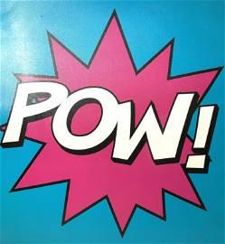 Contemporary POW Pop Artwork on Canvas