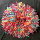Cameroonian Bamileke Feather Hat