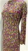 Vintage Emilio Pucci Vibrant Colorful Dress, Italy
