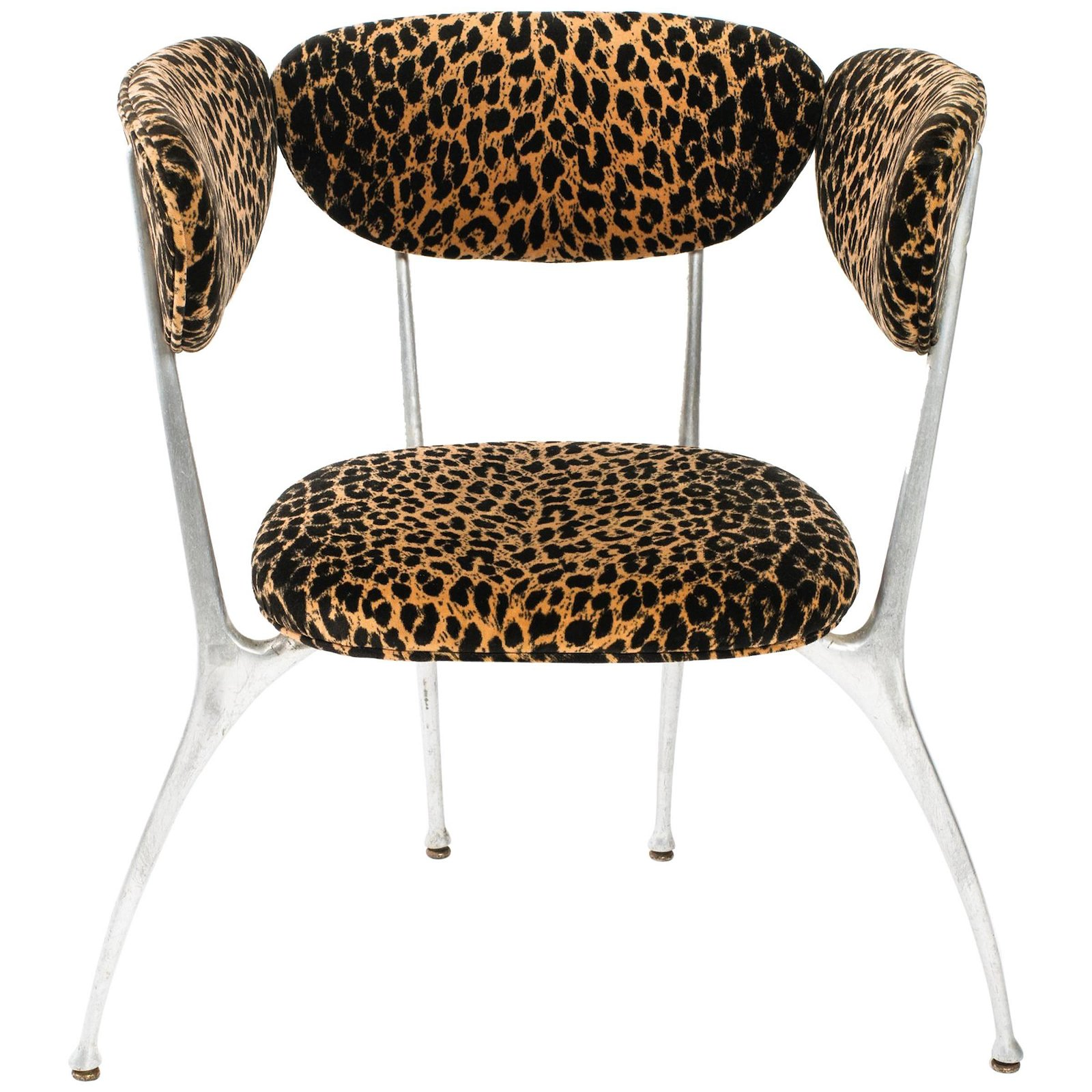 Designer Shelby Williams MCM Atomic Style Chair