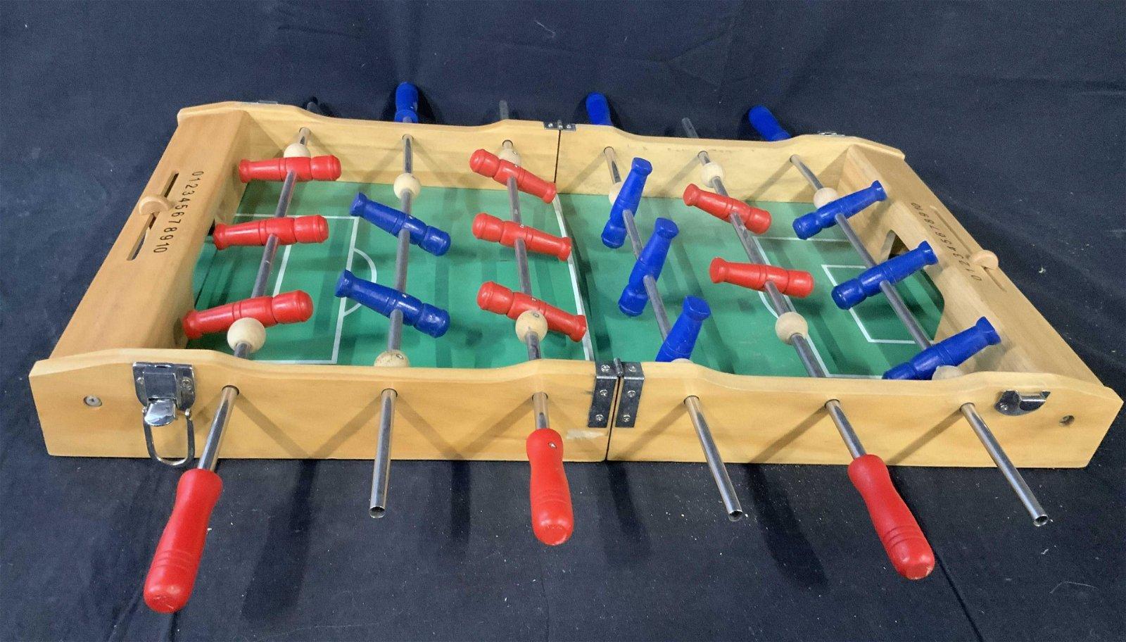 Vintage Table Top Foosball Game
