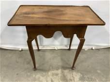Antique Queen Anne Style Tea Table