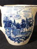 Collectible Water Pitcher, Jefferson's Monticello