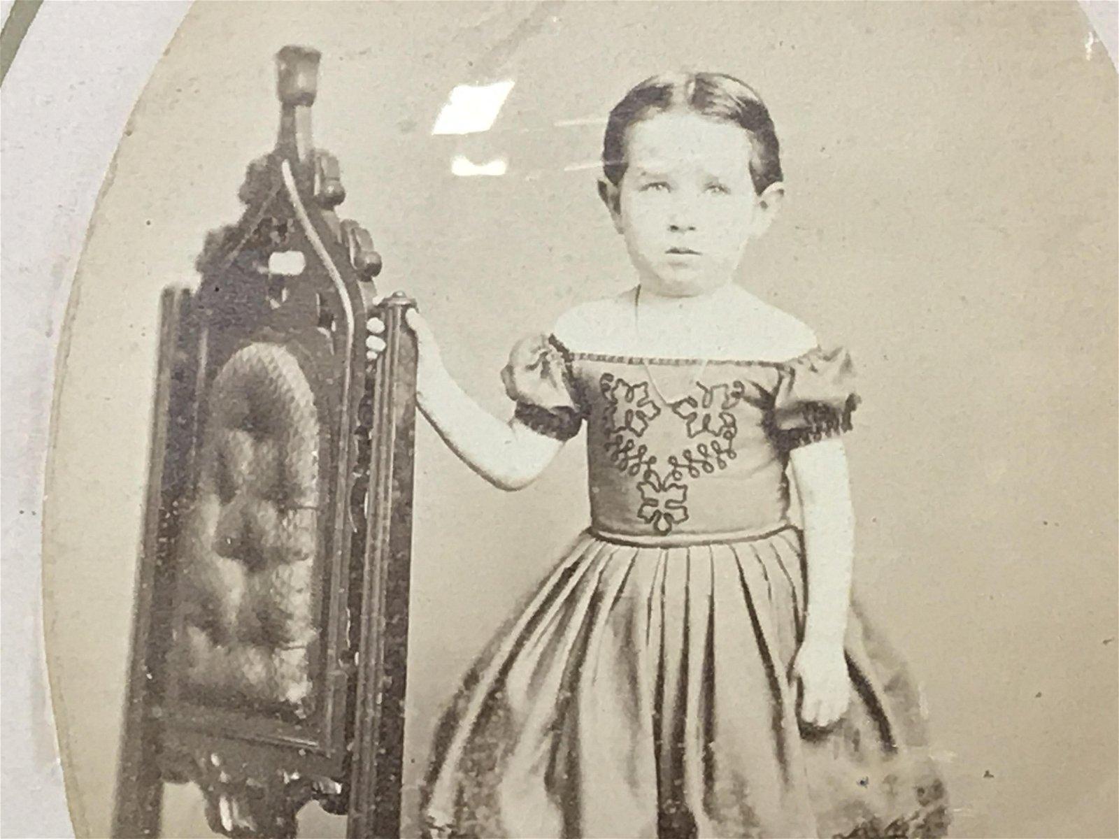 Antique Sepia Tone Photograph