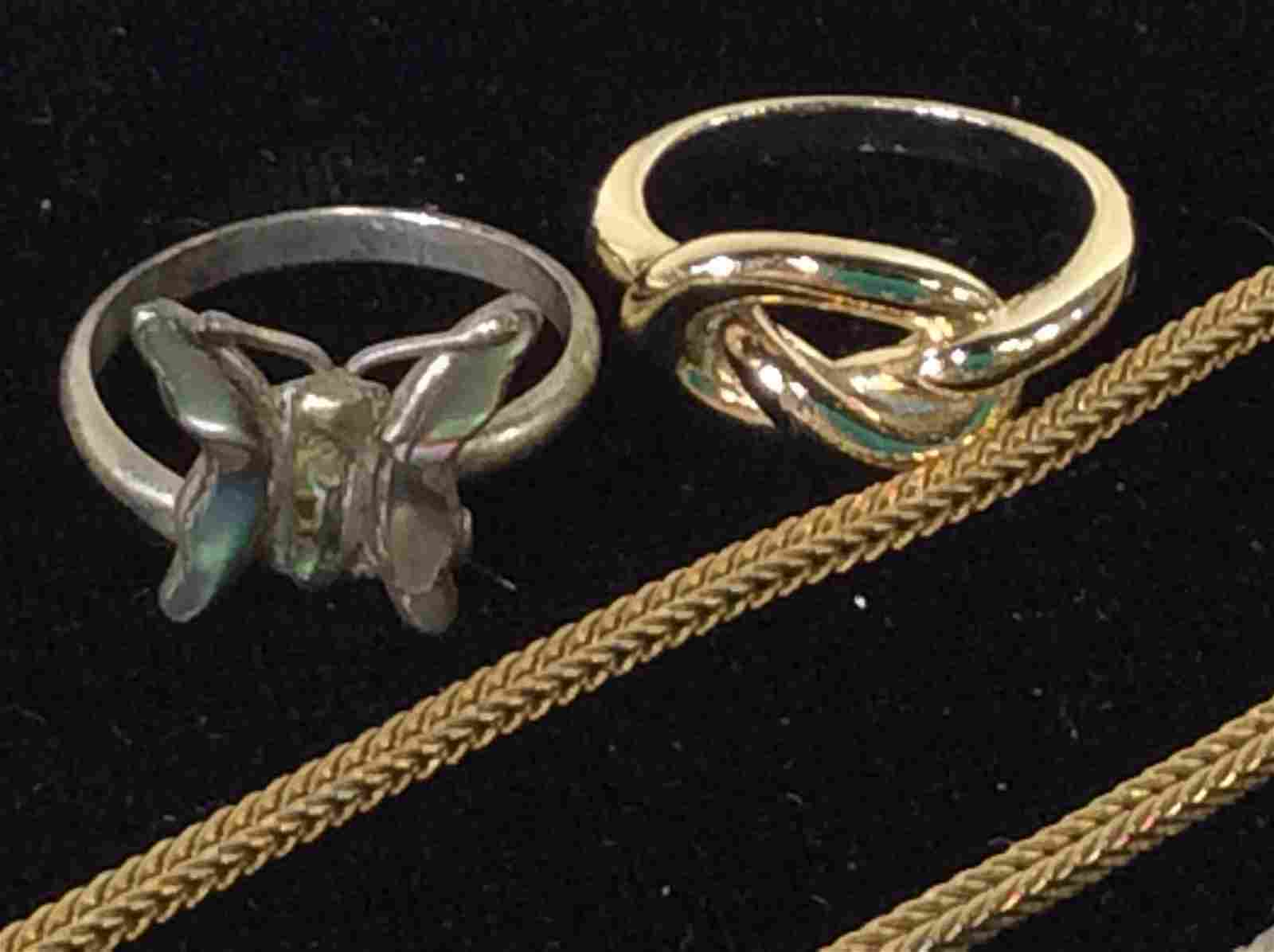 Group Lot Fashion Jewelry and Accessories