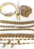 Lot Signed Designer Jewelry MONET, GIL, Napier,