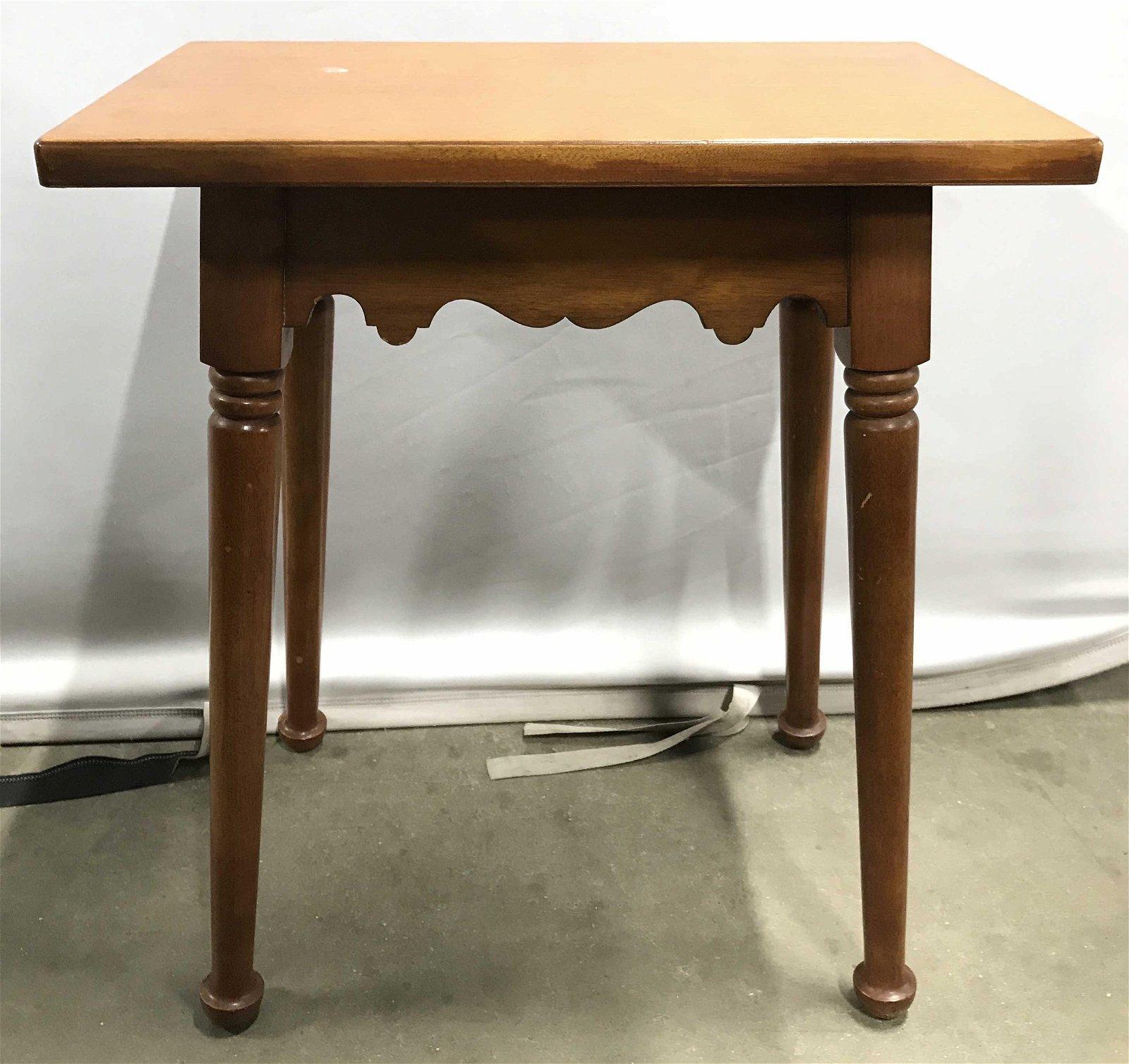 Pair Vintage STICKLEY BROS Side Tables
