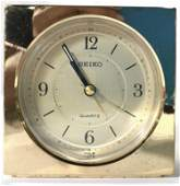 Gold Toned SEIKO Desk Clock