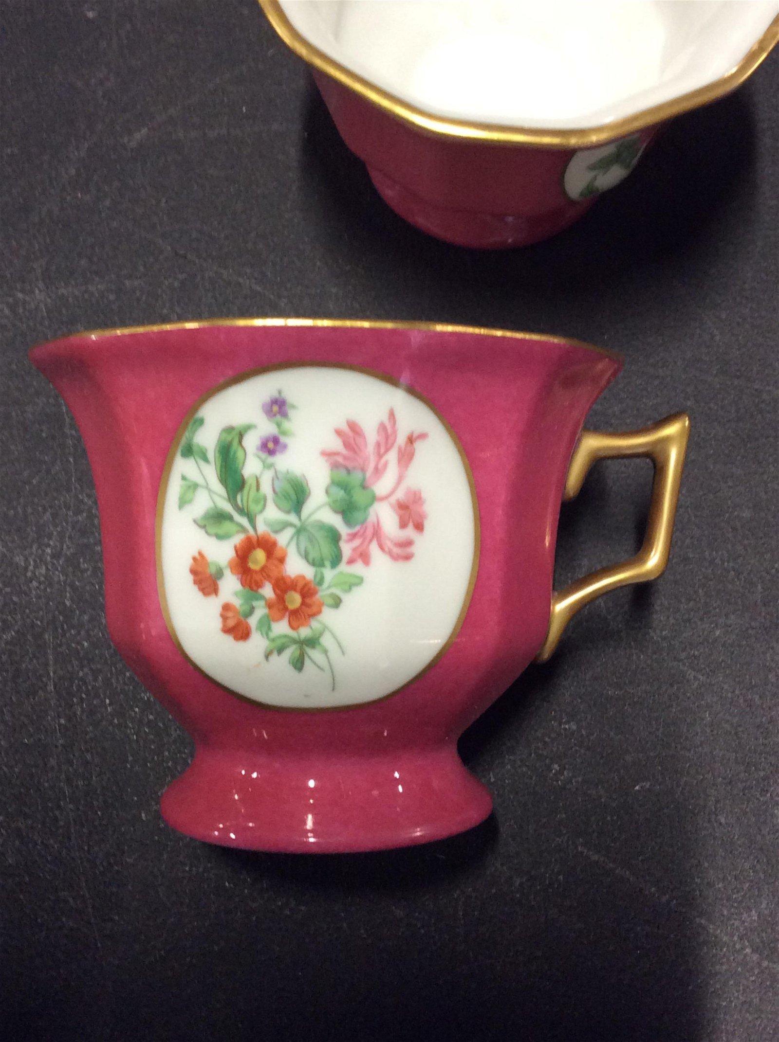 T&V Limoges & R&S Tillowitz Porcelain Set 23 pcs