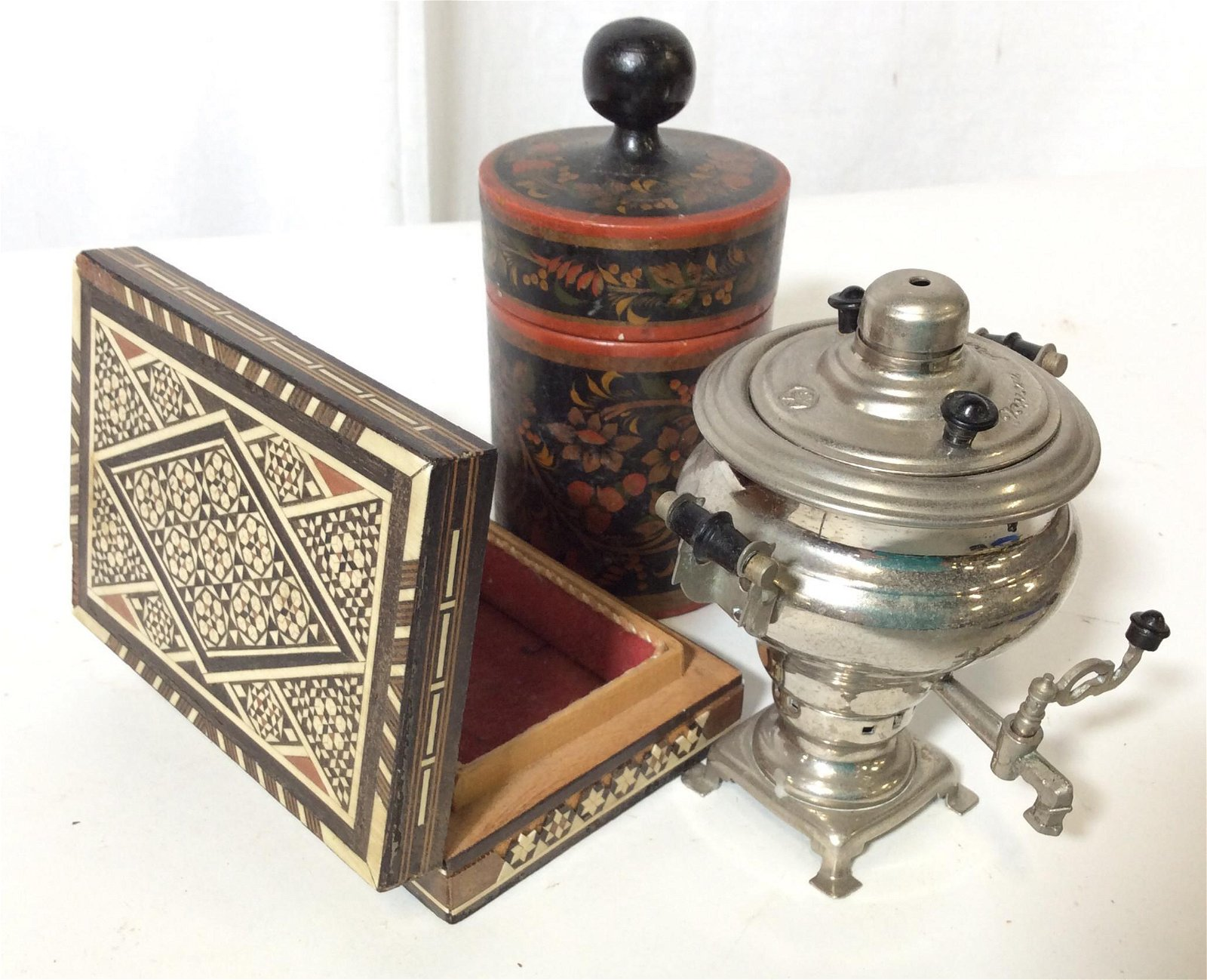 Decorative Vintage Russian Tabletop Decor