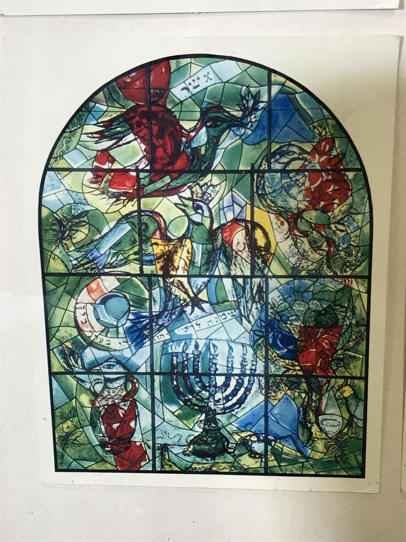 Collection of Marc Chagall Stained Glass Prints