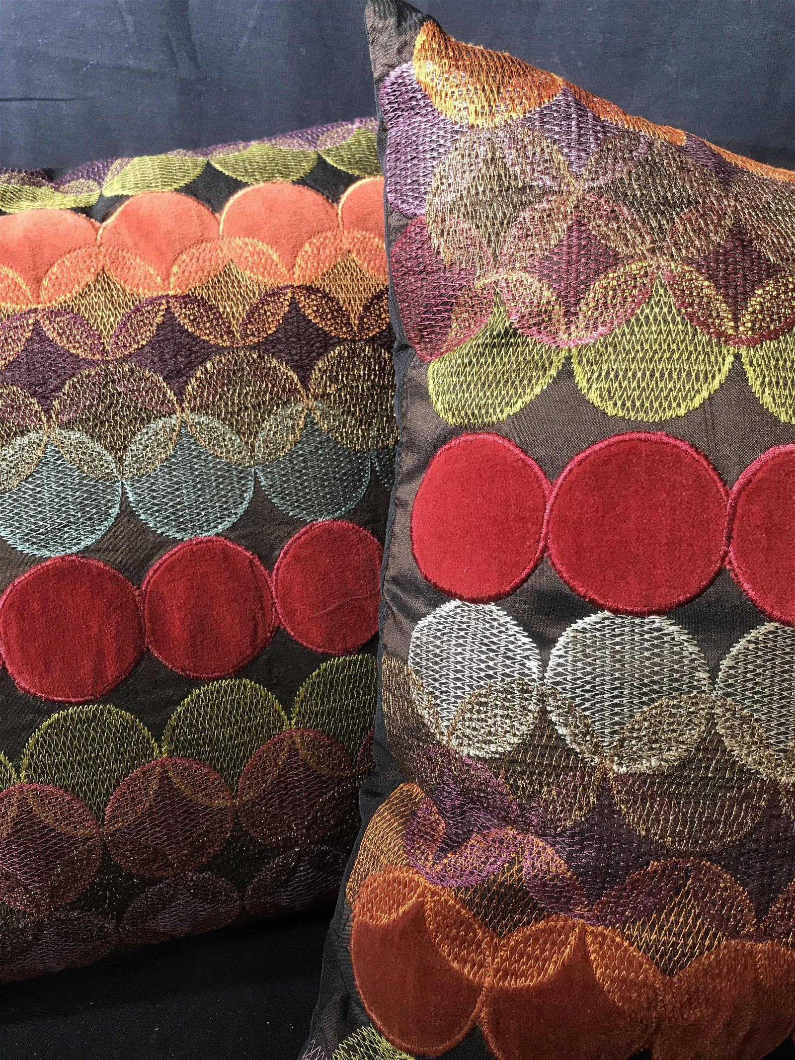 Pair Pier One Contemporary polka Dot Toss Pillows