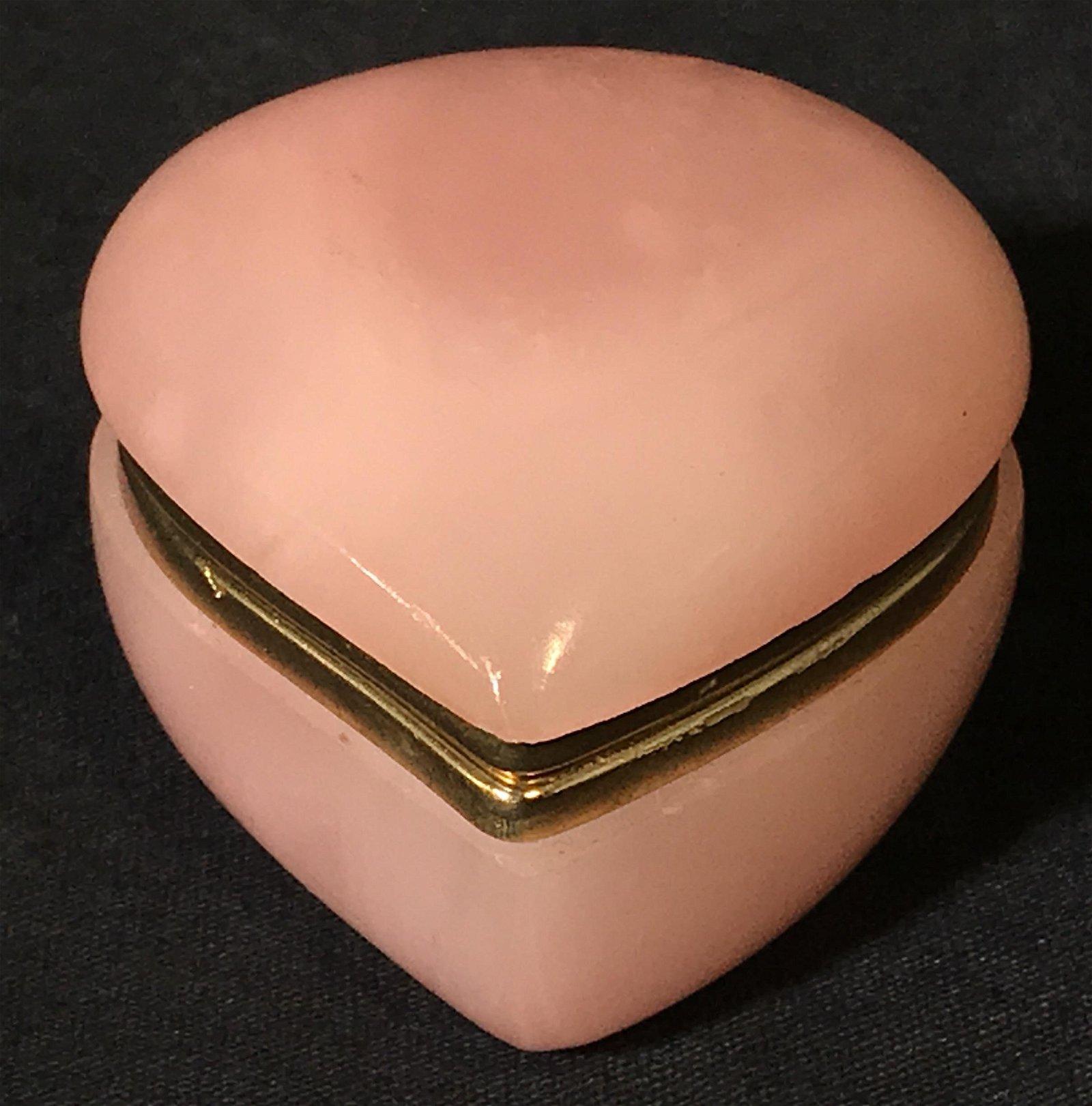G.S.E Ottone Garantito Pink Alabaster Pill Box